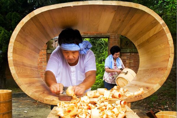 銅牌-江建垣-橡木桶製作