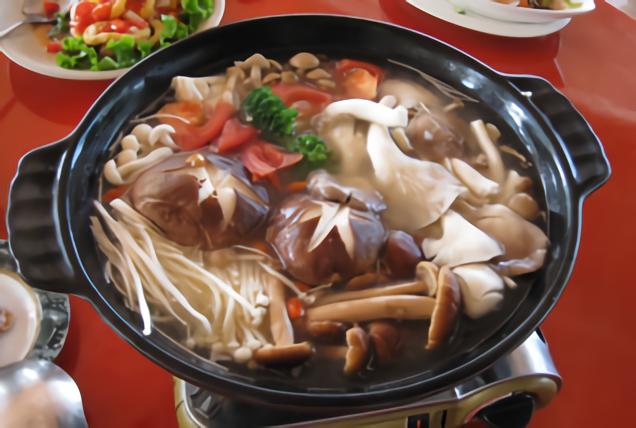 砂鍋養身菇