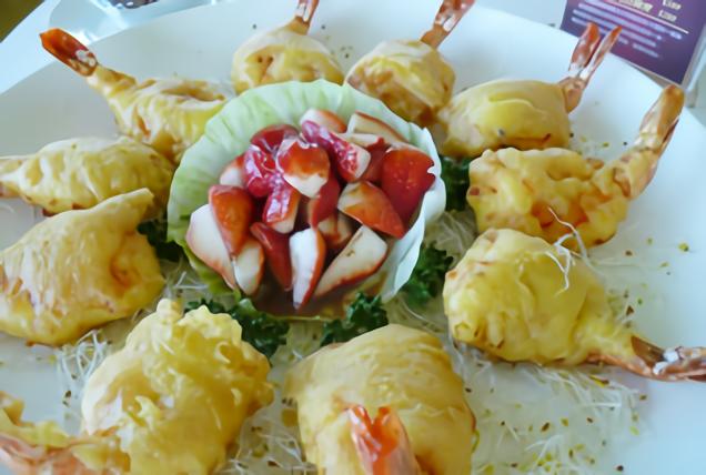全國花園鄉村俱樂部‧中餐廳-蝦料理