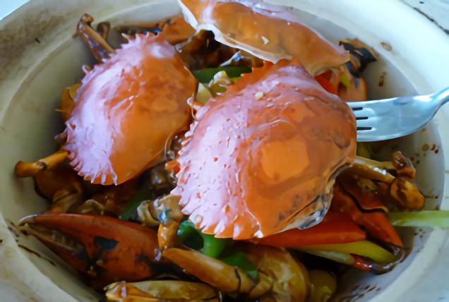 全國花園鄉村俱樂部‧中餐廳-螃蟹料理