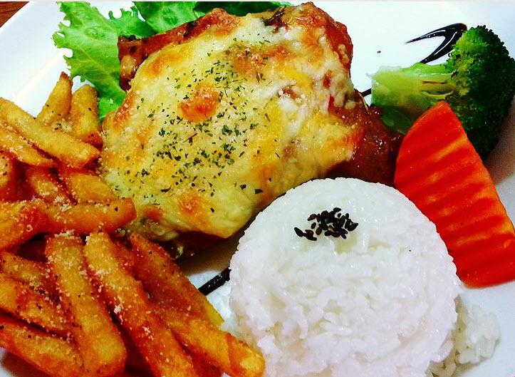 喜朵新洋食館中式餐點
