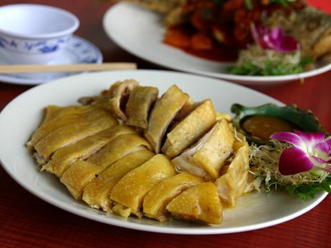 三義土雞城花園餐廳