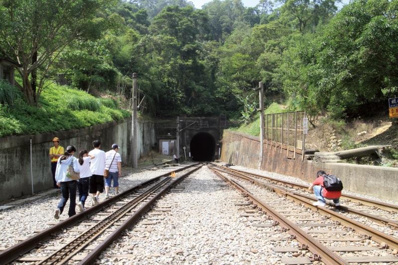 勝興車站 隧道