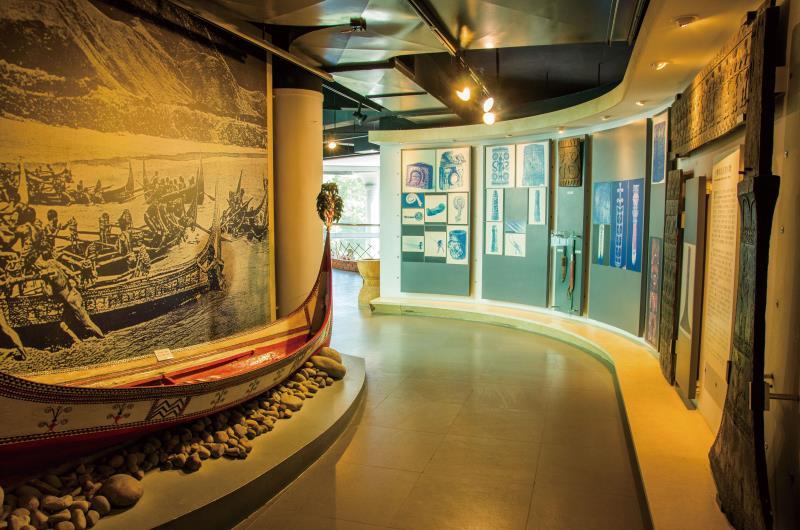 三義木雕博物館-內部