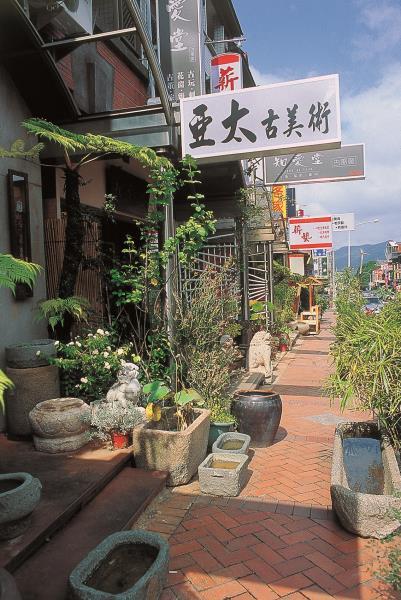 水美木雕街-街道