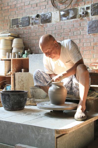 竹南蛇窯 師傅