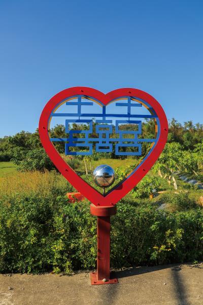銅鏡山林步道 社造主題景物