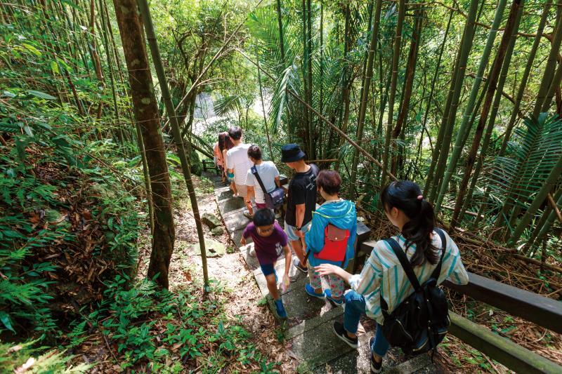 神仙谷 步道