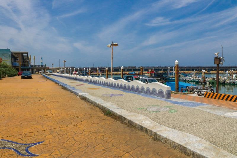 外埔漁港 港邊船隻