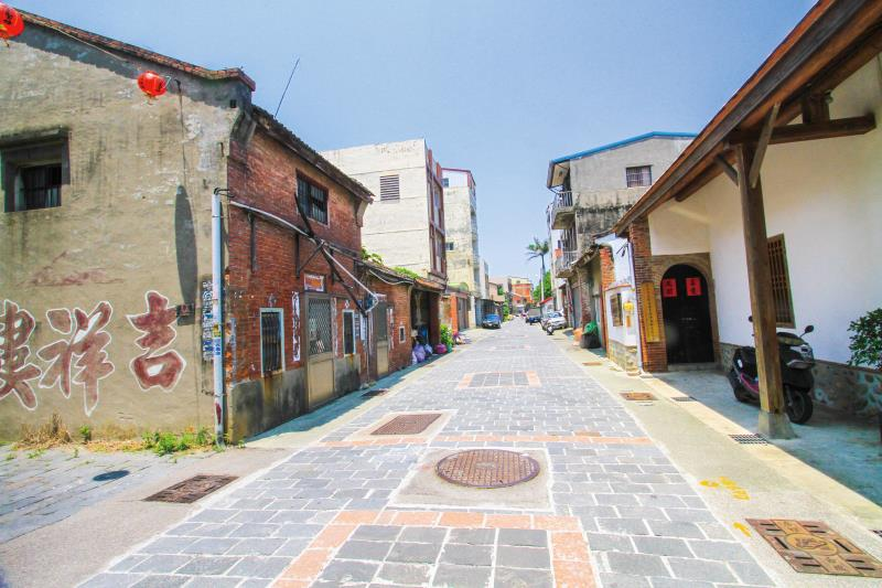 房裡古城 街道