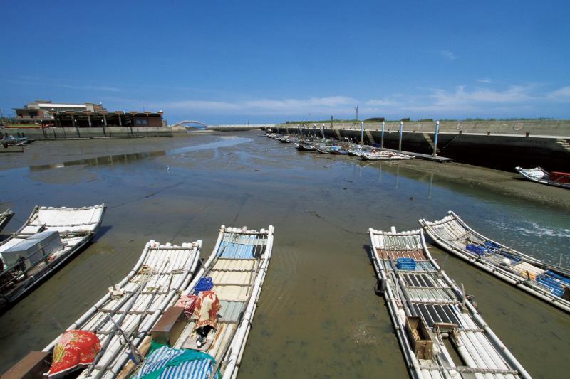 苑港觀光漁港 船隻