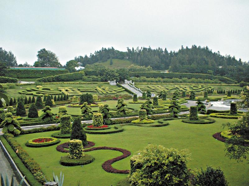 香格里拉樂園 歐式花園