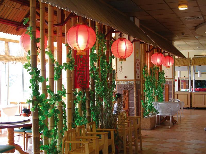 香格里拉樂園 古早味餐廳裝置