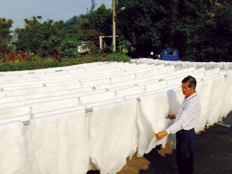 泉明生態教育蠶業農場 蠶絲被