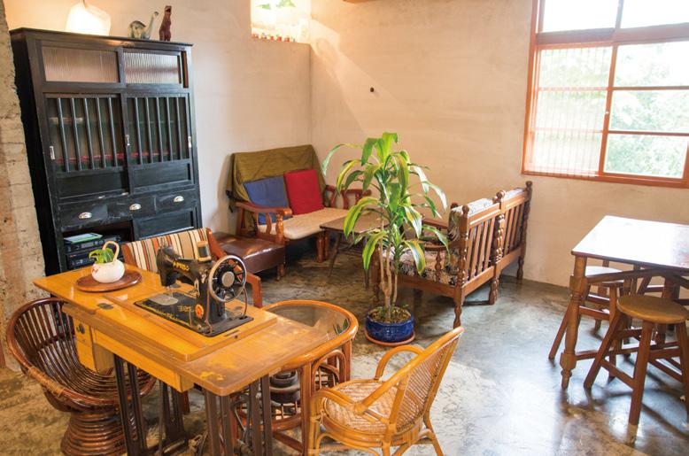 老家藝文空間 舊時家具
