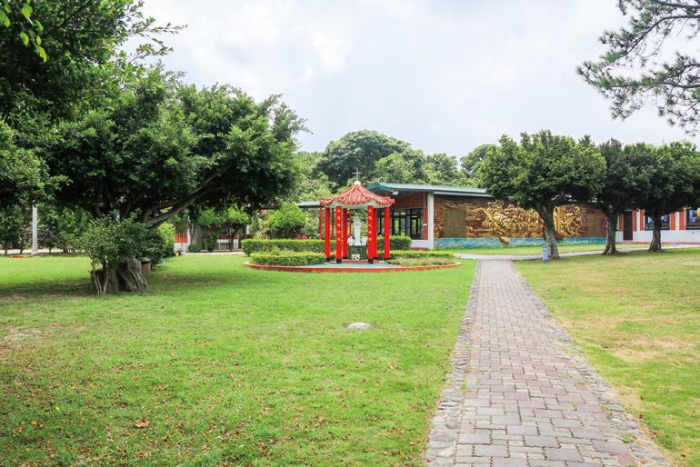 洛雷托聖母之家 添加本地風格的園藝造景