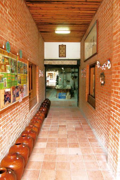 五榖文化村 出入口裝飾陶瓷