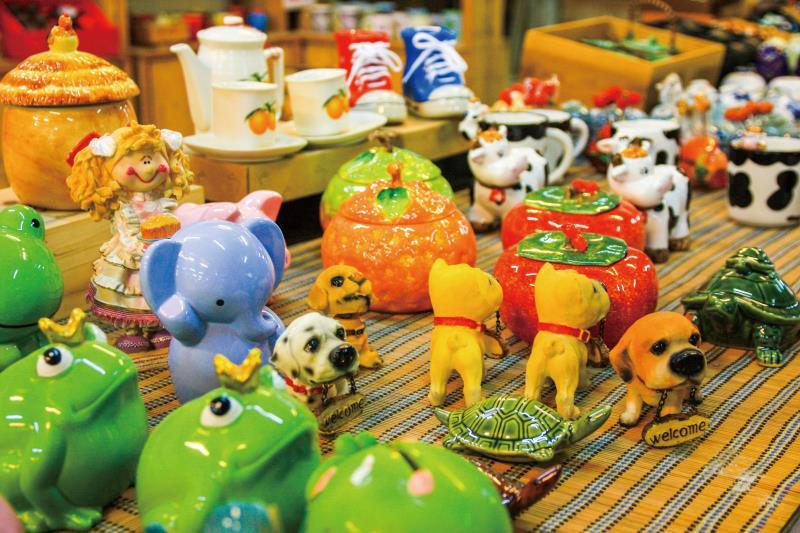 五榖文化村 陶瓷作品