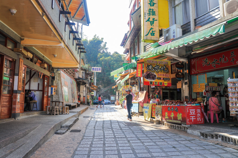 清安豆腐街 石板路面