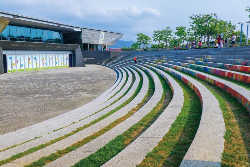 臺灣客家文化館 綠色環保與節能減碳的文化設施
