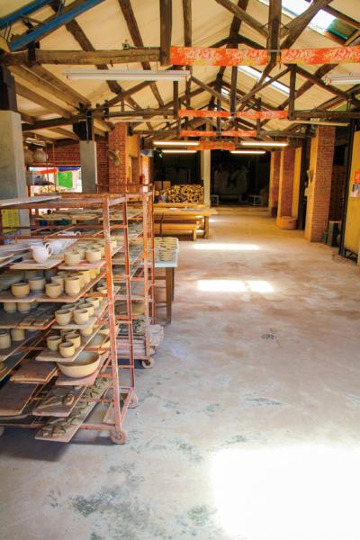 Ceramic production line