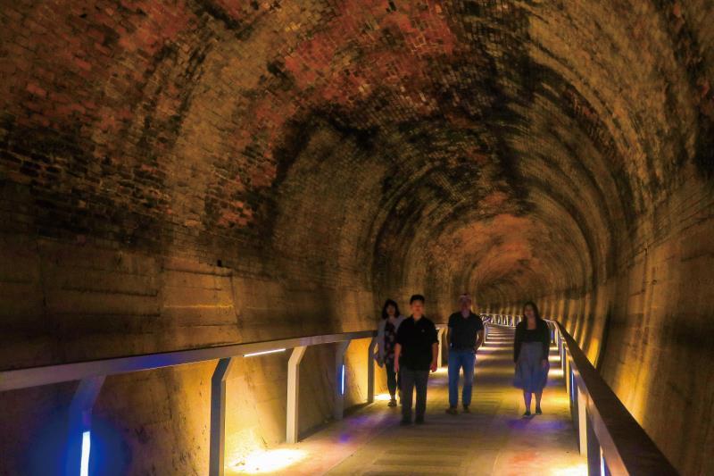 過港貝化石層 隧道