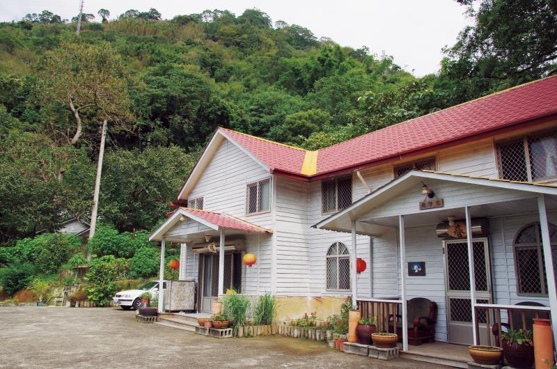 福村養生農園樸實的房舍