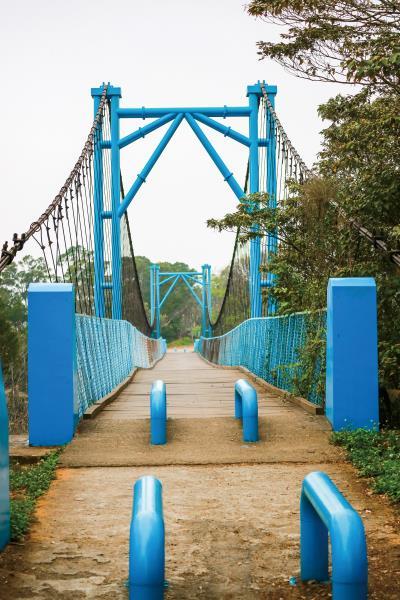 古意吊橋是天空自行車道的地標之一