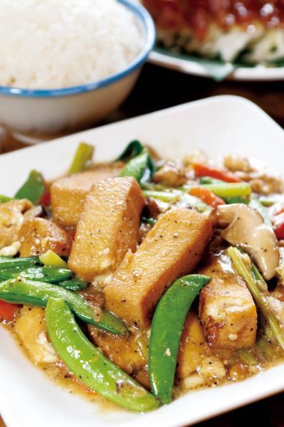 桂花園鄉村會館 豆腐