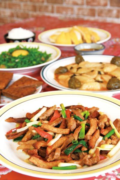 川味仙客家菜館 客家小炒