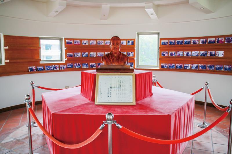 羅福星烈士紀念館內部陳設