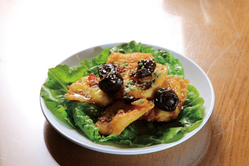傳家堡餐館 梅汁魚片