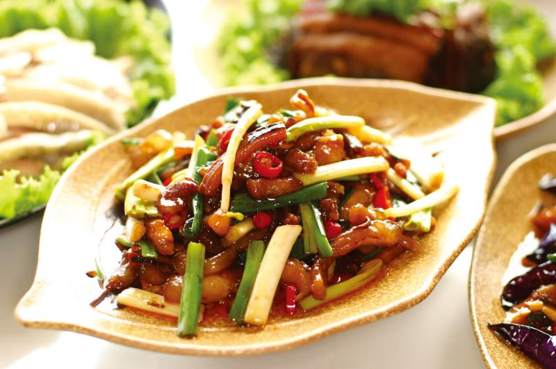 香格里拉樂園-古早味餐廳 客家小炒