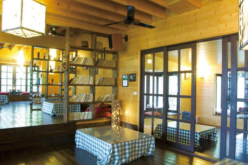湖畔花時間 室內空間