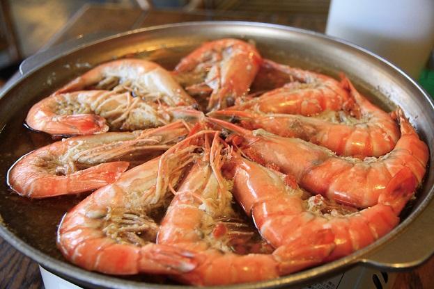 酒酷主題餐廳 蝦料理