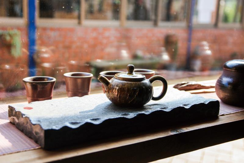 春田窯 茶壺