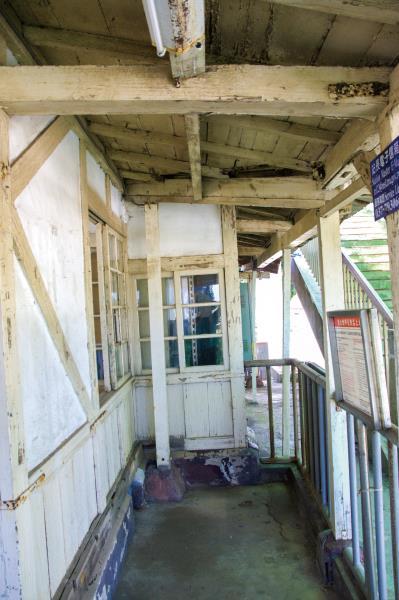 新埔車站 日治時期保留至今的木造結構