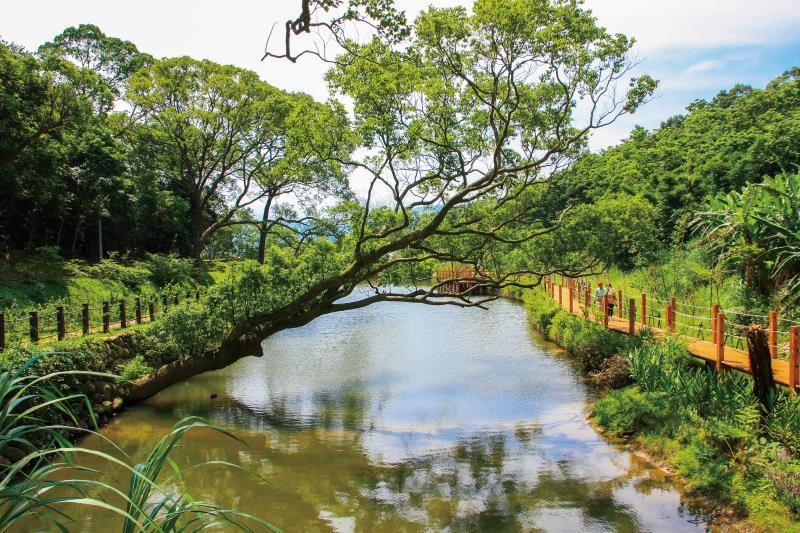 百年埤塘 農村觀光景點