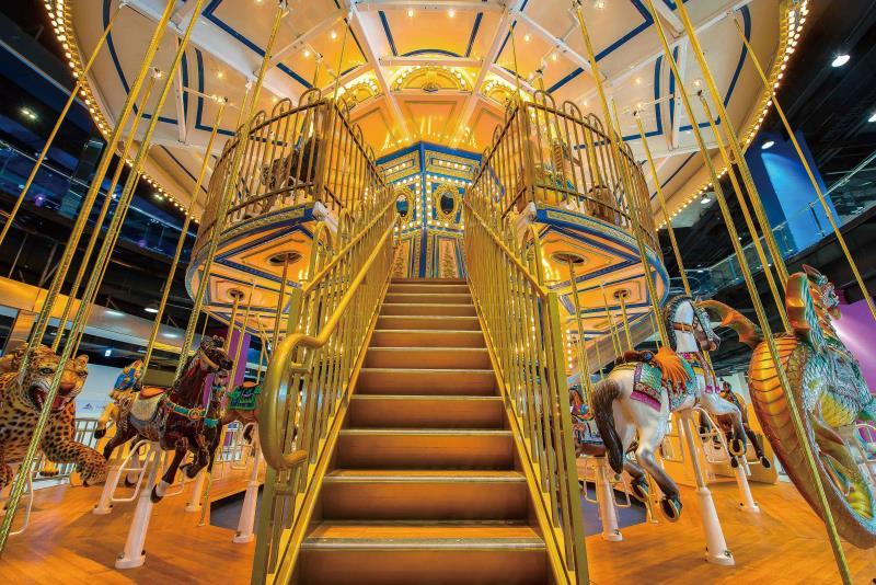 1st floor carousel