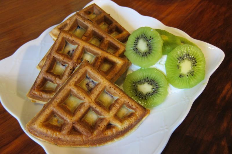 奇異果蔓越莓鬆餅