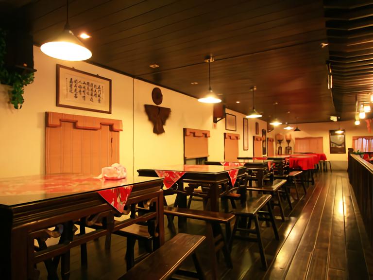 石門客棧休閒農場 餐廳內部