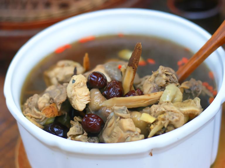 棗莊 雞湯料理