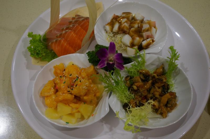 海鮮綜合拼盤