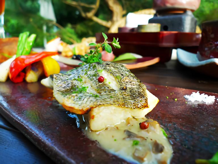 花自在食宿館 魚料理