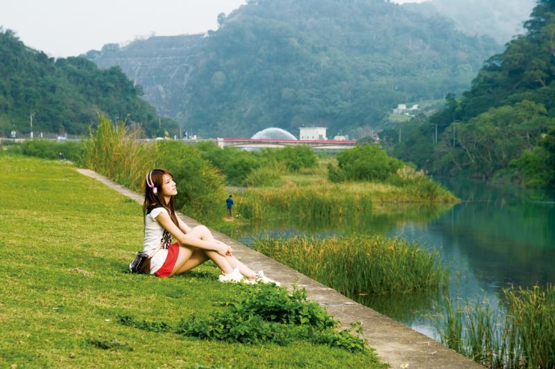 鯉魚潭水庫-草原