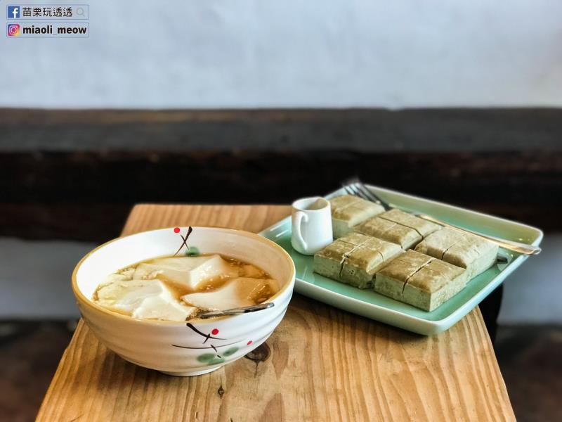 手工鹽滷豆花、非基改豆腐