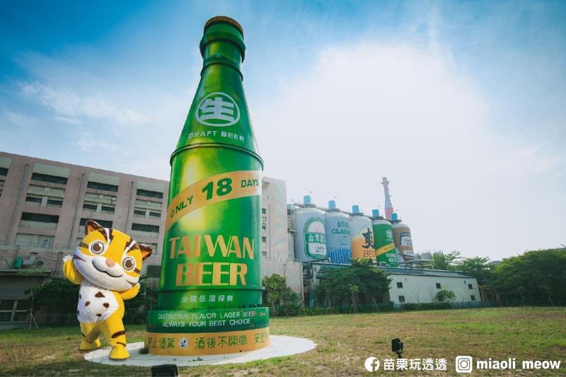 Green-looking 18-day Taiwanese draft beer